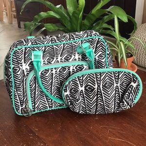 Sonia Kashuk Travel and Makeup Bag